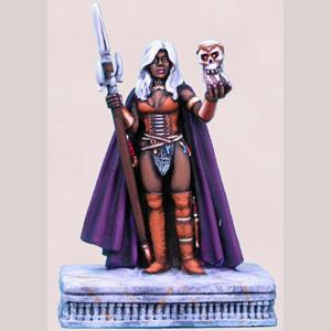 The Offering - Female Dark Elf Warrior