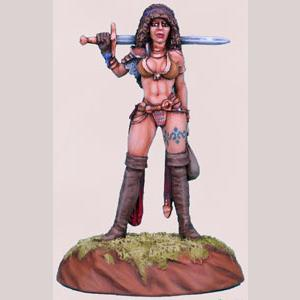 Female Warrior - Journey to the Gathering