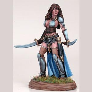 Female Dual Wield Fighter