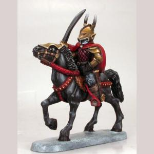 Chaos Warrior with Sword on Horse Mount