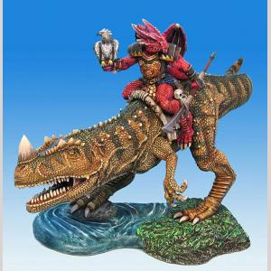 Draconid Warrior on Dino Mount