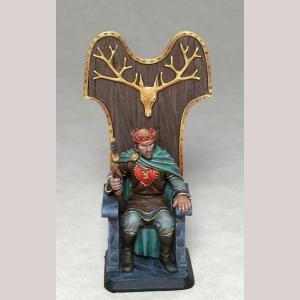 Stannis Baratheon on Throne