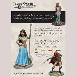 Masterworks Miniature Painting Haley/Foerster 3-DVD Set