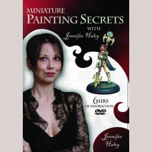 CMON-Miniature Painting Secrets with Jen Haley, 2 DVD Set