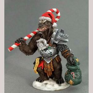 Christmas Honey Badger