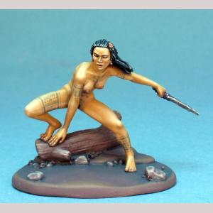 Ecto Body Type - Female Feral Warrior