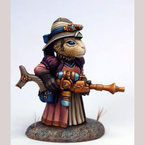 Female SteamPunk Guinea Pig