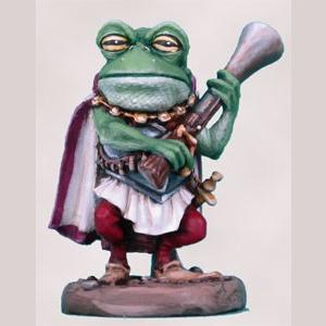 Frog Guard with Blunderbuss