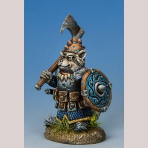 Raccoon Warrier with Axe/Shield