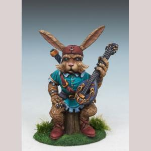 Rabbit Bard with Lute