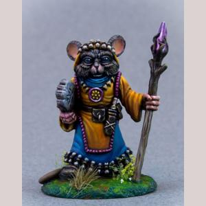 Mouse Druid with Staff