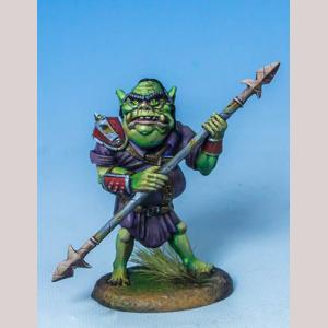 Rotgut - Half Orc Warrior with Spear