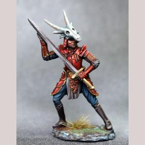 Male Warrior with Bastard Sword