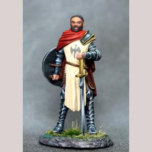 Male Paladin with Bastard Sword and Shield