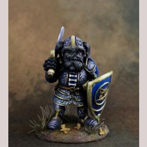 Savannah - Schnauzer Paladin with Sword
