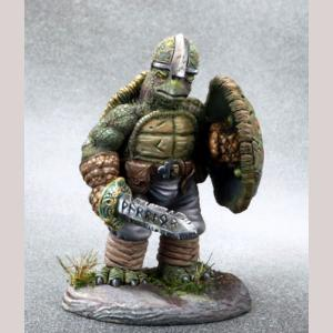 Tortoise Warrior with Sword and Shield