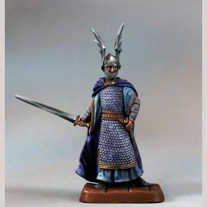 Male Elven Warrior with Sword