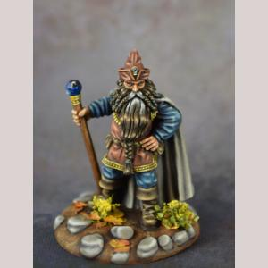 Dwarf Mage with Staff