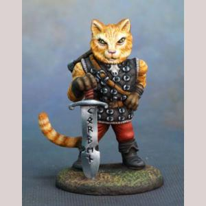 Korben - Large Cat Warrior with Sword
